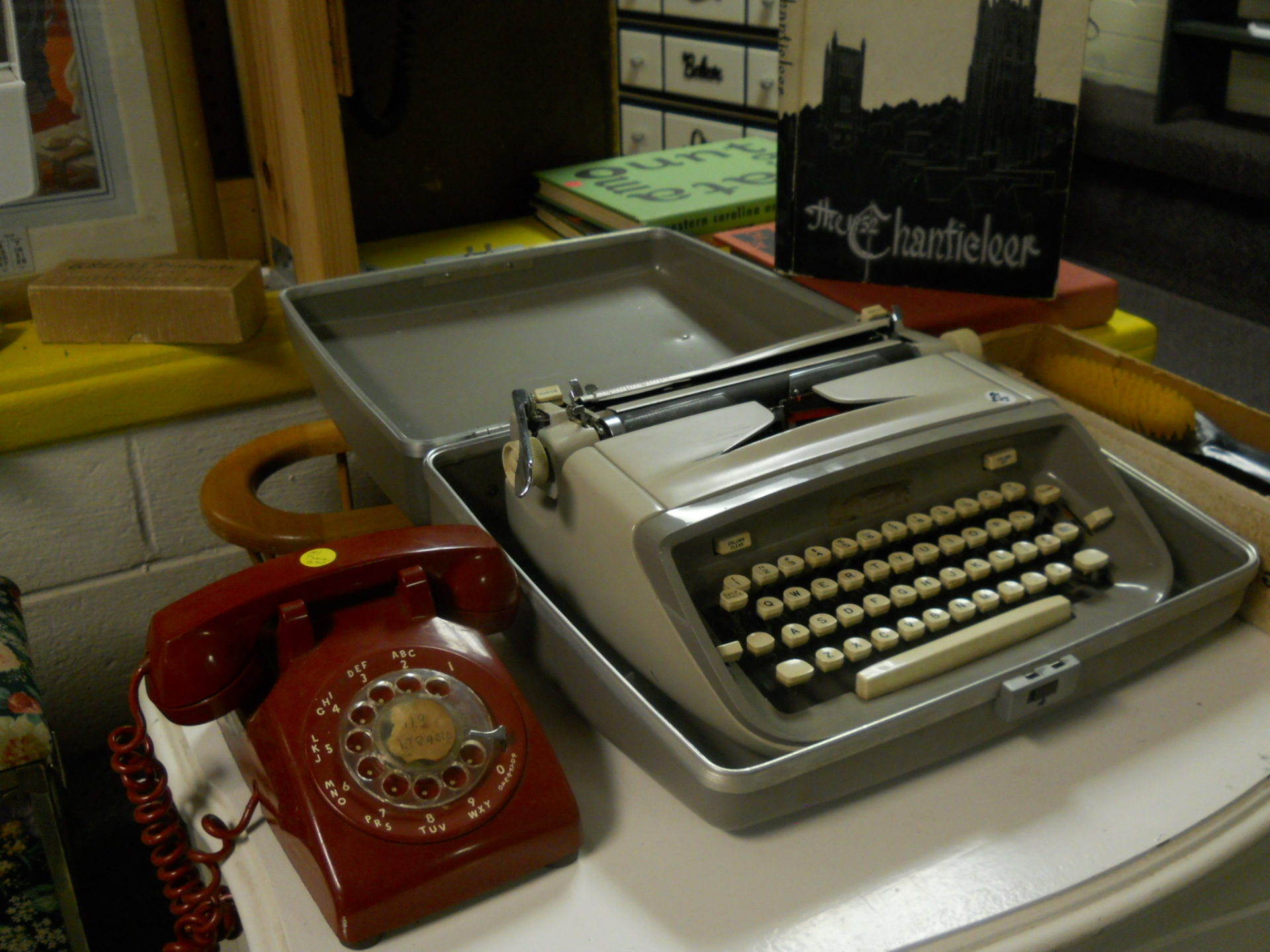 Rotary Phones and Typewriters